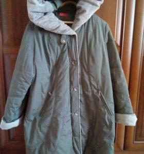 Пальто женское зима Рр- 54-56  ❄⛄очень теплое