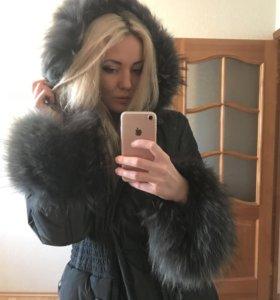 Зимняя куртка пуховик новая