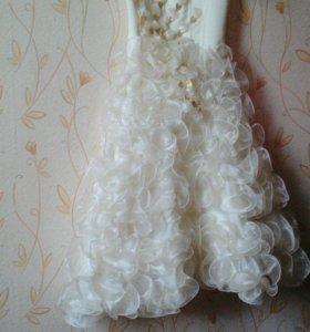 Платье выпускное в детсад