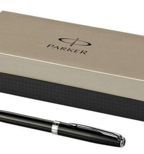 Ручка шариковая Sonnet Black Laque CT. PARKER-S080