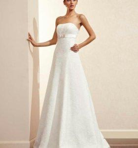 Свадебное платье Amour Bridal цвет шампань