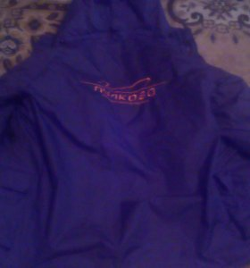 Куртка теплая зимняя с логотипом аэропорта