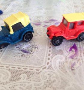 Машинки из киндер сюрприза
