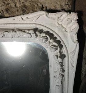 Зеркало гипс