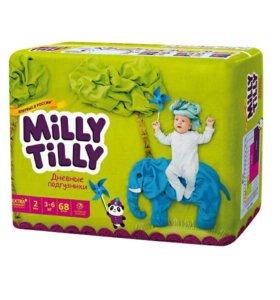 Подгузники Milly Tilly Мини 2 (3-6 кг) 68