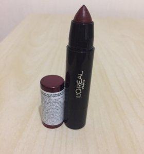 Помада-бальзам для губ ( sexy balm) L'Oréal.
