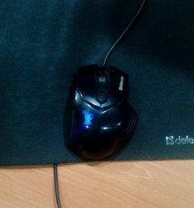 Мышка игровая Defender