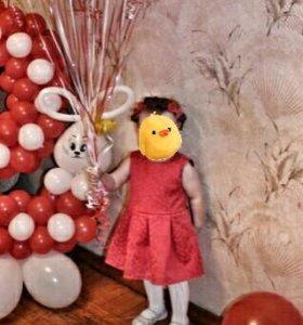 Детское платье (жаккард)