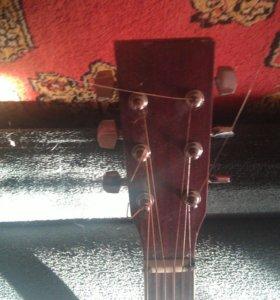 Акустическая гитара, 6-и струнная