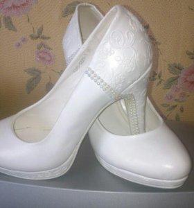 Туфли свадебные б/у