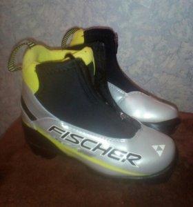 Лыжные детские ботинки Fischer