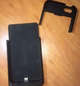 Чехол-аккумулятор на iPhone 5, 5s