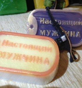 """Мыло ручной работы """"Жетон"""""""