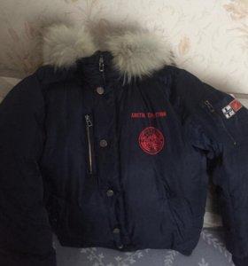 Куртка зимняя (аляска) фирма Fin Flare