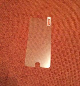 Закалённое защитное стекло на Айфон 6,6s