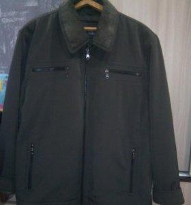 Куртка мужская, демисезонная 64-66 размер