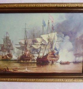 Картина-корабли
