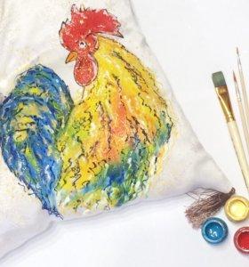 Ручная роспись одежды, аксессуаров, предметов инте
