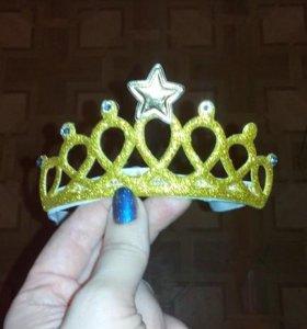 Корона для девочек новая