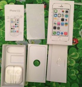 Коробка iPhone 5s 16gb Ростест