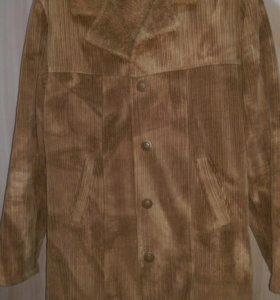 Пальто вильветовое