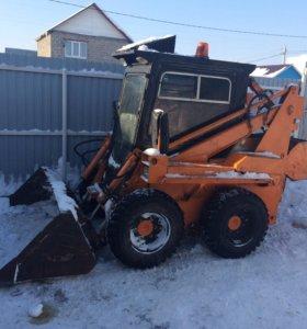 Уборка снега-мусора