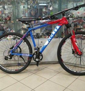 Новый велосипед на гидравлике