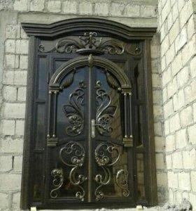 Ворота кованные изделия