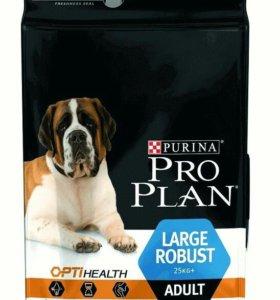 Корм для собак Pro Plan- для крупных пород