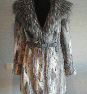 пальто из искуственного меха