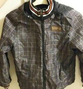 Куртка на мальчика 7-10 лет