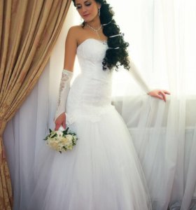 Прекрасное свадебное платье ❗️счастливое ➕подарок