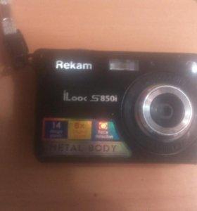 Цифровой фотоаппарат Rekam ilook s850i