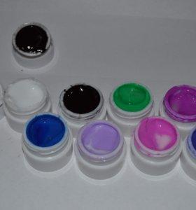 😍 Гель-лаки цветные для ногтей, маникюр