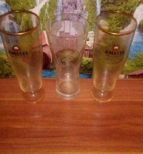 Бокалы пивные