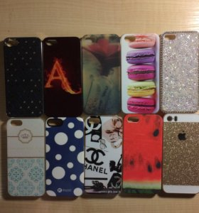 Чехлы iPhone 5 + пленки