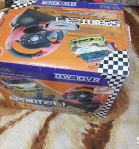 Продам игровой руль Dialog GW-10VR