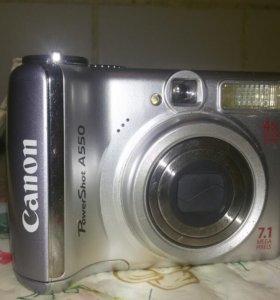 Фотоаппарат Canon A550