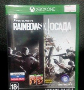 Tom Clancy's rainbow six ОСАДА на Xbox One
