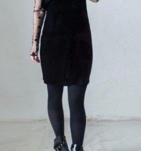 Комплект платье+топ