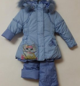 Новый костюм зимний р. 98-104