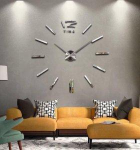 Огромные настенные часы -новые