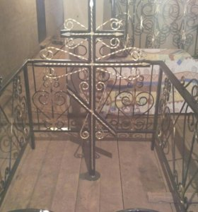 Кованная ограда Кованный крест