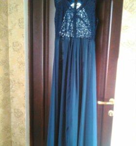 Вечернее платье в пол.новое