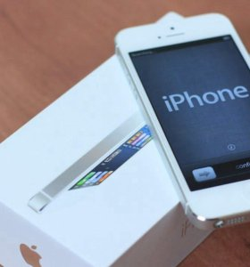 iPhone 5 16gb silver (новый)