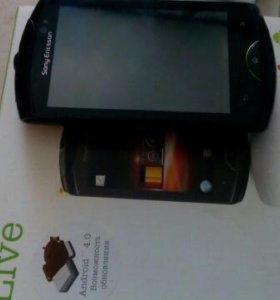 Sony Ericsson Live with walkman черный