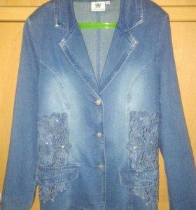 Джинсовая куртка 46-48