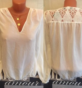 Рубашка кофточка женская