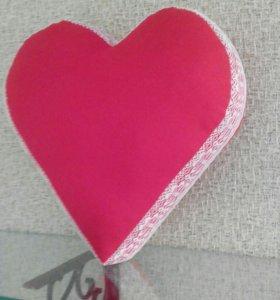Подушки- сердечки