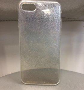 Чехол iphone 7 блестки